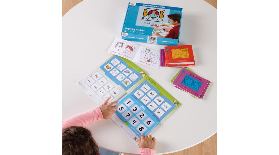 Learn To Read With Bob Books and VersaTiles Workbooks!