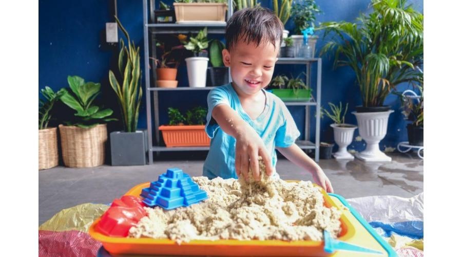 3 Key Areas for Keeping Calm During Lockdown... Our Story of Sensory Play