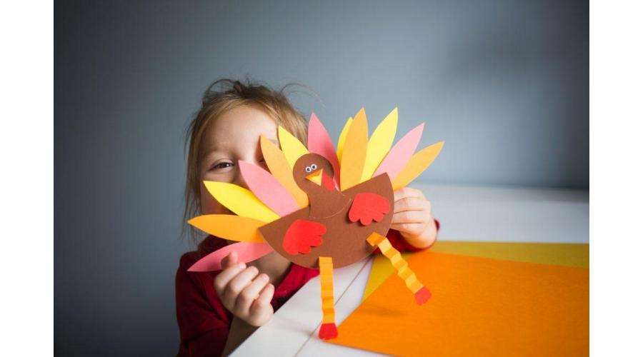 Thanksgiving Arts & Craft Ideas for Kids