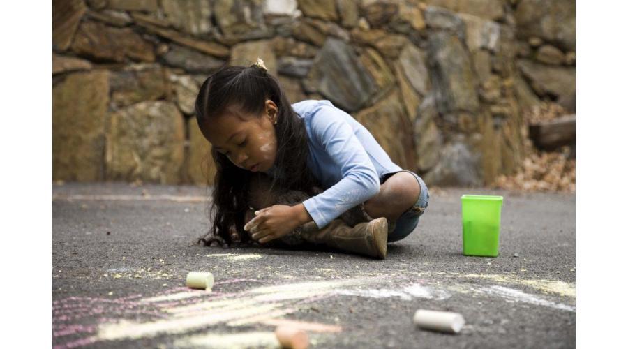 Sidewalk Chalk Number Games for Fun Summer Learning