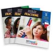Hands-On Standards® Fractions, Texas Edition Grades 3-5 eBooks Bundle