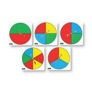 Color Spinner Set, Set of 5