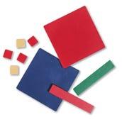 Algebra Tiles, Plastic, Student Set