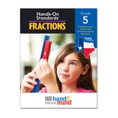 Hands-On Standards® Fractions, Texas Edition Grade 5 eBook