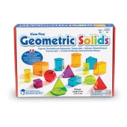 View-Thru® Geometric Shapes, Assorted Colors, Set of 14