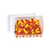 Plastic Two-Color Counters Classroom Kit, Set of 1,000