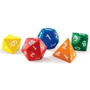 Foam Polyhedral Dice, Set of 5