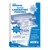 """8.5"""" X 11"""" Hot Laminating Pouches"""