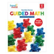 Guided Math Single Student Workbook, Grade 1, Unit 1