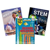STEM NGSS Engineering Design Book Collection (5 Books), Grades 6-8