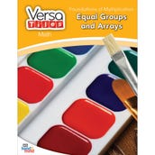 VersaTiles®Math Book: Foundations of Multiplication: Equal Groups and Arrays