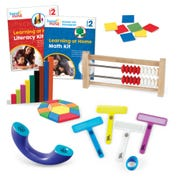 Learning at Home Math & Literacy, Grade 2