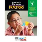 Hands-On Standards®, Common Core Fractions Teacher's Resource Guide, Grade 3