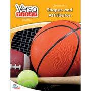 VersaTiles®Math Book: Geometry: Shapes and Attributes, Grade 2
