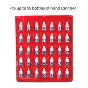 Hand Sanitizer Storage Chart with 36 Bottles