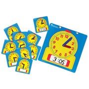 Write & Wipe Clocks Classroom Set