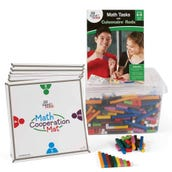 Math Tasks Cuisenaire® Rods Classroom Kit, Grades 6-8