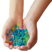 Multicolored Water Beads