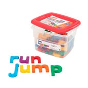 Jumbo Multicolored Alphamagnets® Lowercase (Set Of 42)