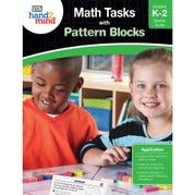 Math Tasks Pattern Blocks Book, Grades K-2