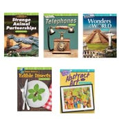 Math Fractions & Geometry Book Collection (8 Books), Grade 4