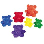 Rainbow Three Bear Family Counters, Set of 96