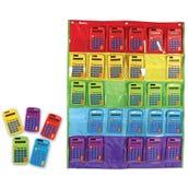 Rainbow Calculators & Storage Chart