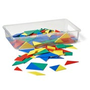 Plastic Tangrams, Set of 24