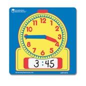 Write On/Wipe Off Student Clock, Set of 10
