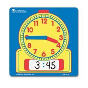 Write On/Wipe Off Student Clock, Set of 10