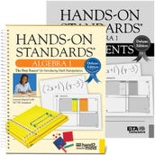 Hands-On Standards, Deluxe Edition Algebra 1 with Assessment Book
