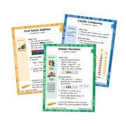 Differentiated Math Centers, Grade 1 Length, Time, Data, and Shapes Card Set