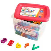 Multicolored Alpha And Mathmagnets® (Set Of 126)