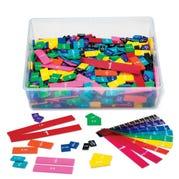 Rainbow Fraction®/Decimal Tiles Classroom Kit, Set of 15