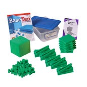 Foam Base Ten Blocks Starter Set