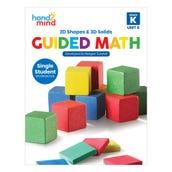 Guided Math Single Student Workbook, Grade K, Unit 6