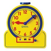 Primary Time Teacher Learning Clock, Demonstration Learning Clock