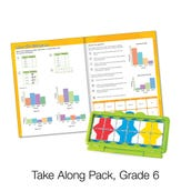 VersaTiles® Math Take Along Pack, Grade 6