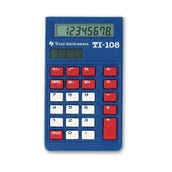 TI-108 Beginner's Calculator Classroom Kit, Set of 30