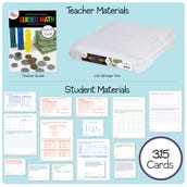Guided Math Kit, Grade 4 - Unit 8: Data & Financial Literacy