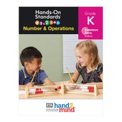 Hands-On Standards®, Number & Operations, Common Core Edition, Grade K, Teacher Resource Guide
