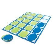 Ten-Frame Floor Mat Set Activity Set
