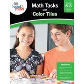 Math Tasks Color Tiles Books, Grades 6-8
