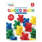 Guided Math Single Student Workbook, Grade K, Unit 1