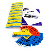 Place Value Strips,  Set of 10