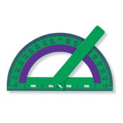 Protractor with Swing Bar, Set of 10