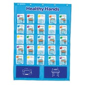 Healthy Hands Pocket Chart