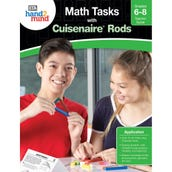 Math Tasks Cuisenaire® Rods Books, Grades 6-8