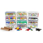 STEM Bins™ Essential Kit, Set of 12 STEM Bins