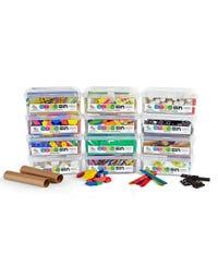 STEM Bins™ Essential Kit, Set of 12 STEM Bins